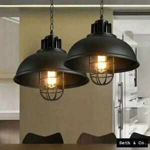 Lampshade LED Vintage pendant light Modern Design Ceiling Light Shade