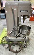Hobart 60qt Mixer H 600t 60 Quart Bakery Pizza Dough Dolly Bowl Paddle 3ph 1hp