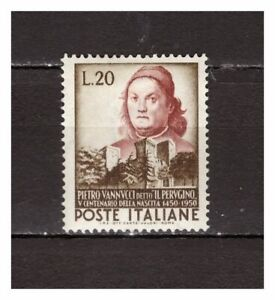 s21579-ITALIA-1951-MNH-Nuovi-Perugino-1v