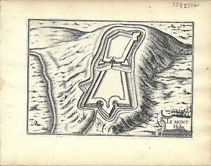 Antique-map-Le-Mont-Hulin-Montreuil
