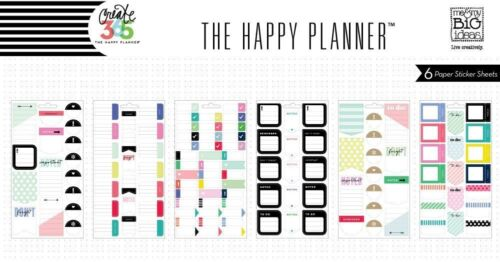 Create 365 The Happy Planner mamBi DON/'T FORGET Stickers PPS-54 Brand NEW!