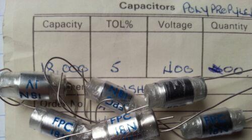 18000pF LCR FPC 18nF 5/% condensatori in polipropilene 400 V