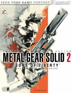 Metal gear solid 2 sons of liberty perfect game guide japan book.