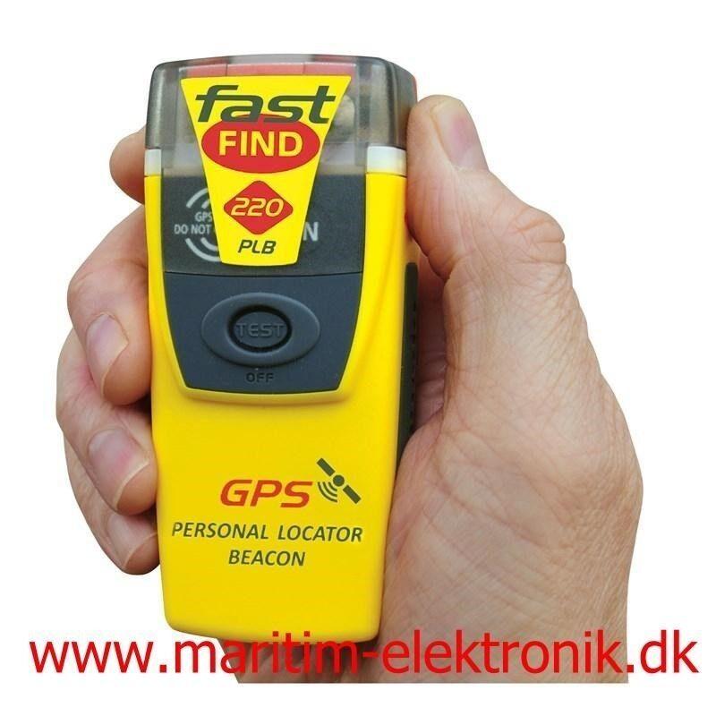 McMurdo FastFind PLB med GPS McMurdo FastFind 2...