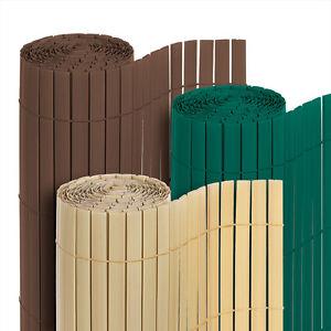 pvc sichtschutzmatte sichtschutz zaun matte windschutz balkon markise blende ebay. Black Bedroom Furniture Sets. Home Design Ideas