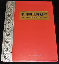 WORLD HERITAGE SITES IN CHINA in Chinese Language SCARCE HC 2003