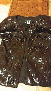 dîner soirée courtes 34 Valley Alvin veste Black taille Manches 2 Vintage de EqHc8wgqt
