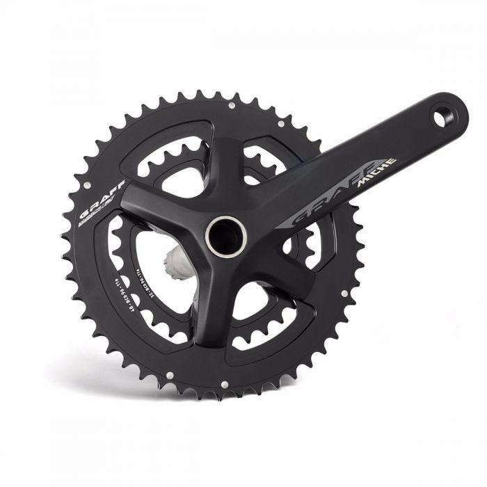 Compact crankset Graff 4630t 172.5mm 2019 MICHE road bike