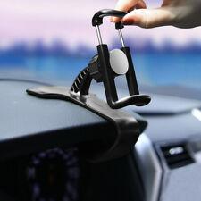 1car Black Dashboard Phone Clip Holder Mount Stand Cradle Hud Design Auto Parts Fits Isuzu