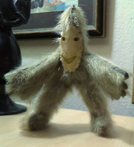 Antique-Inuit-Hand-Made-YETI-doll