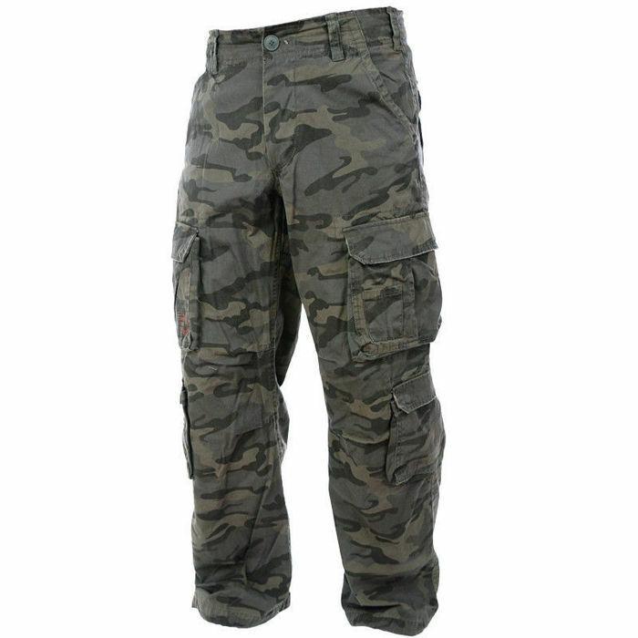 Pure Trash Pants Defense  Cargo Trousers US Combat Pants Combat Camo