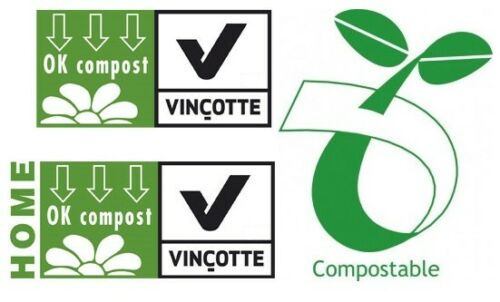Compost Bin Bags 7Litre 8L  Tie Top Compostable Food Waste Caddy Liners 7L