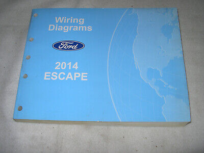 2014 ford escape electrical wiring diagram service manual | ebay 2014 ford escape wiring diagram  ebay
