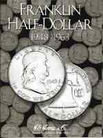 Franklin Half Dollar Coin Folder Album 1948-1963 By H.e. Harris