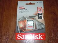 SanDisk Ultra - (SDSDUN-016G-G46) Memory Cards