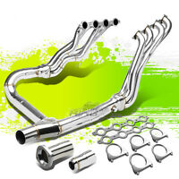 Long Tube Exhaust Manifold Header+y-pipe For 07-13 Silverado/gmc Sierra Truck