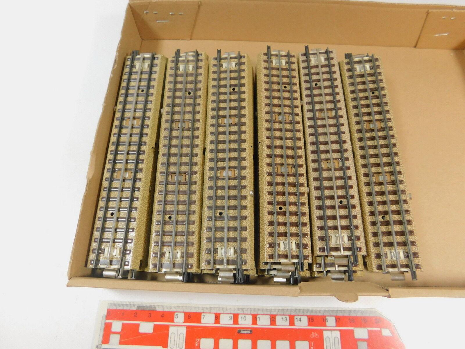Ar500-2  30x   h0/00 pezzo di binario appena M-Binario 3600/800/capo fondi Neuw