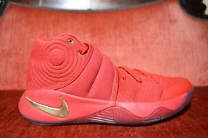 brand new aa794 db584 Details about Nike Kyrie 2 LMTD Gold Medal University Red Metallic Gold  838639-676 Size 8 US