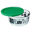 Pyrex-Football-Fanatic-4-Cup-Storage-Bowl-W-cover-Store-Display-Vintage-NEW miniature 1