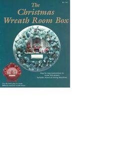 Christmas-Wreath-Room-Box-Book-Item-BOY142