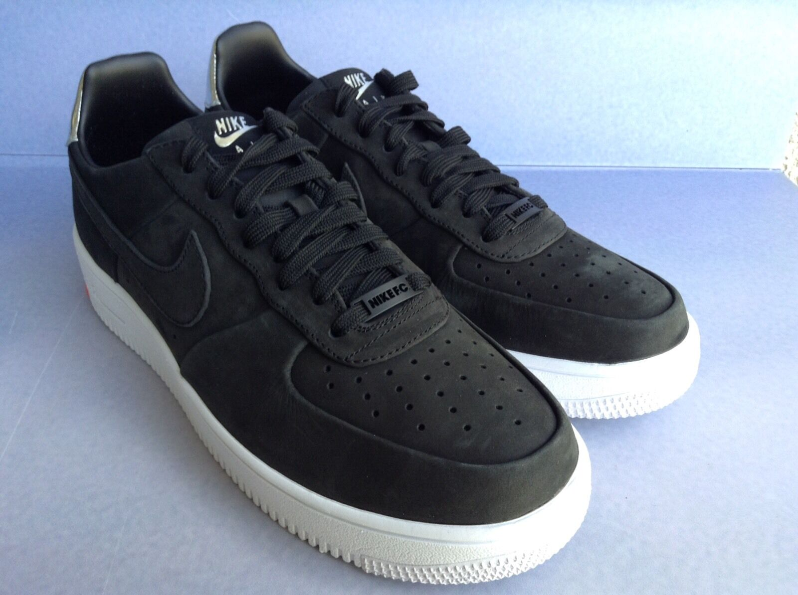 Nike air force 1 ultraforce fc qs (865306-001) cr 7 nero chrome bianco