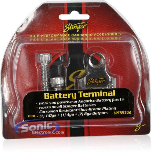 Stinger SPT55302 Multi GM Battery Terminal 1//0 Gauge//4 Gauge /& Two 8 Gauge Out