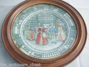 Royal-Doulton-Framed-Queen-Elizabeth-at-Old-Moreton-1589-Collectors-Plate-2ch