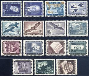 OSTERREICH-Jahrgang-1953-komplett-tadellos-postfrisch-Mi-361