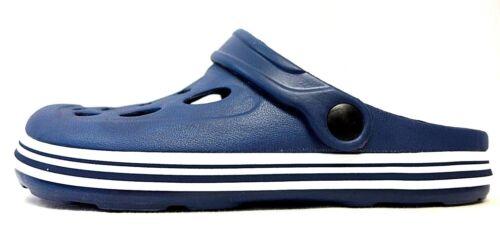 100/% Jungen Damen Clogs blau Größe  37 38 39 41  EVA UNISEX stabil leicht