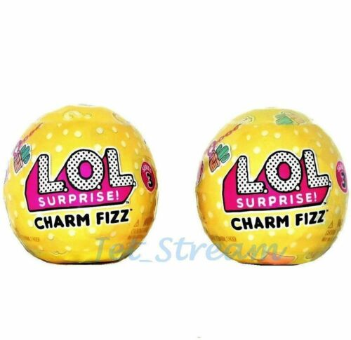LOL SURPRISE CHARM FIZZ Balls Series 3-2 Balls 100/% Authentic!