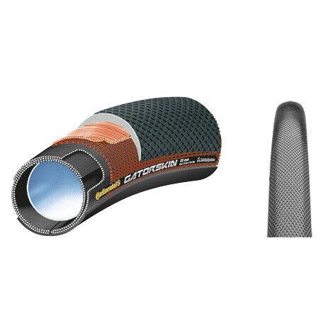 Continental Sprinter Gatorskin 700//28 x 25 Tubular Tire w// Black Chili