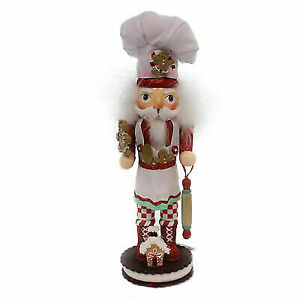Kurt Adler 15-Inch Gingerbread Chef Nutcracker HA0325