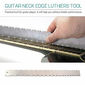 Guitar-Neck-Notched-Straight-Edge-Luthiers-Tool-for-Most-Electric-Guitars-yW