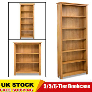 Image Is Loading 3 5 6 Tier Bookcase Home Book Shelf