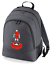 Football-TEAM-KIT-COLOURS-Liverpool-Supporter-unisex-backpack-rucksack-bag miniatuur 1