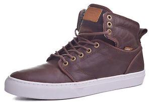 db63c3d4f5 Vans Alomar Men s Duck Hunt Leather Mid Top Skateboard Shoes Choose ...