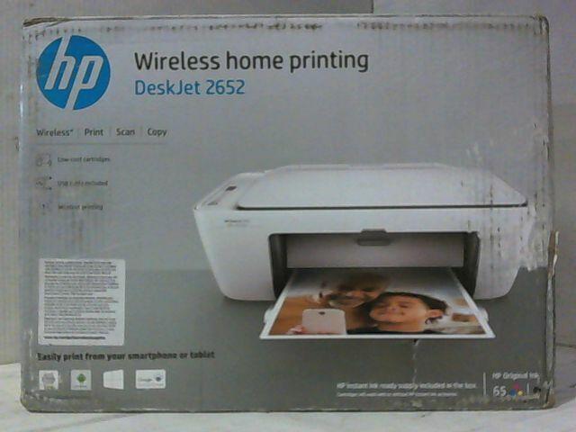 HP Deskjet 2652 Wireless Color Injet All-in-one Printer ...