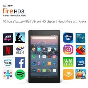 New-Amazon-Kindle-Fire-HD-8-Tablet-with-Alexa-16GB-Latest-Model-UK-Stock