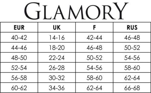 Glamory-lussuosa supporto senza calze 50115 comfort 20 FB//Tg - selezione fino al 62