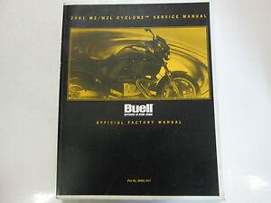 2001-Buell-Cyclone-M2-M2L-Servicio-Reparacion-Tienda-Manual-Fabrica-OEM-Libro-De