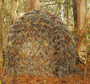 Ghillie Cover For Ground Blind Hunting Duck Atv Double Bull Woodland Camo Ebay