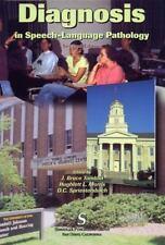 Diagnosis in Speech-Language Pathology by J. Bruce Tomblin, Hughlett L....