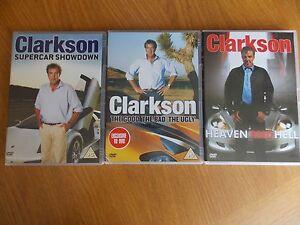 3 x Jeremy Clarkson DVDs - St. Austell, United Kingdom - 3 x Jeremy Clarkson DVDs - St. Austell, United Kingdom