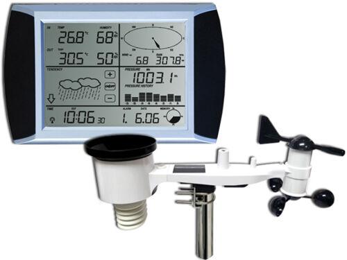 außenmast NOUVEAU Professionnel Radio Station Météo wh1080 se solaire écran Tactile USB