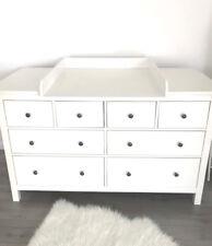 Puckdaddy Wickelaufsatz Rund in weiß mit extrabreiter Blende für IKEA Hemnes