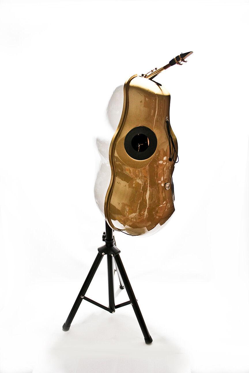 Alt Saxophon Schall Dämpfer Mute Silencer SAX ONE 2.0 inkl Ständer - WELTNEUHEIT