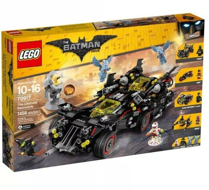 Lego Batman Movie 70917 The Ultimate Batmobile - Brand New Retired Rare