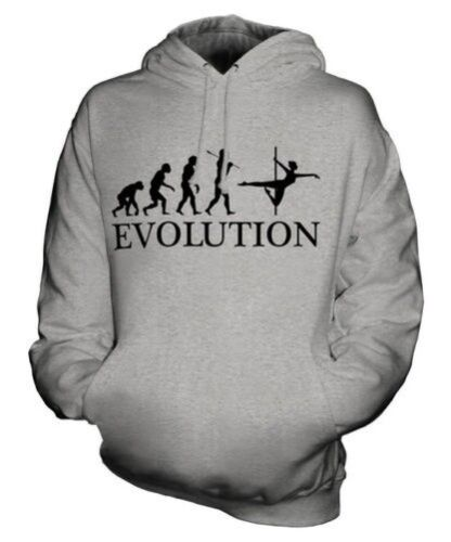 Cappuccio Idea Pole Uomo Unisex Felpa Dancer Regalo Donna Con Man Evolution Of gwq0Fvg