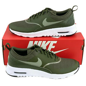Details about Nike Air Max Thea Olive Green Women's Size 8.5 Running Shoes Sneakers 599409 310