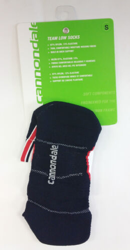 cycling road socks Low Socks in Red by Cannondale X L.E